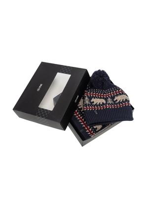Zestaw czapka i szalik ZESTM-0001-69(Z21)