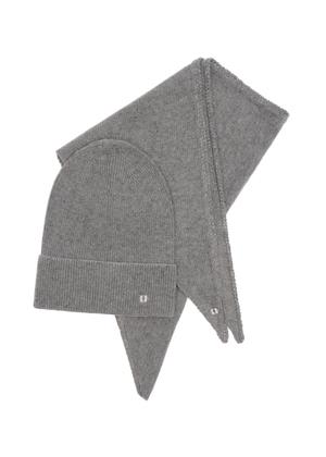 Zestaw czapka i szalik SZADT-0136-91+CZADT-0058-91(Z21)