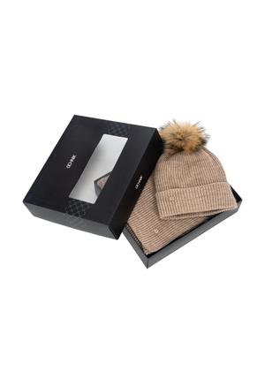 Zestaw czapka i szalik ZESTD-0001-81(Z21)