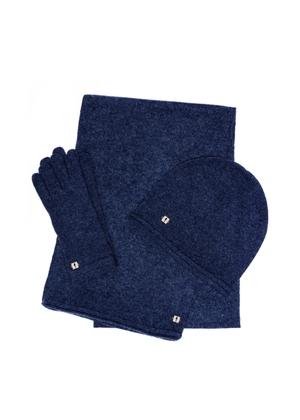 Zestaw czapka, szalik i rękawiczki SZADT-0093-69+CZADT-0043-69+REKDT-0020-69(Z21)