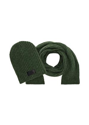 Zestaw czapka i szalik SZAMT-0016-51+CZAMT-0011-51(Z21)