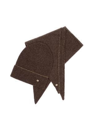 Zestaw czapka i szalik SZADT-0136-89+CZADT-0058-89(Z21)