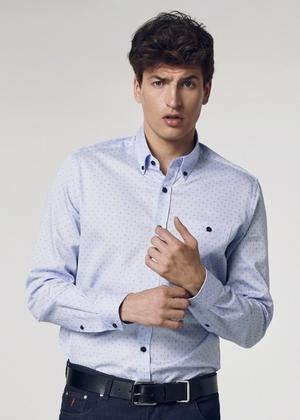 Koszula męska KOSMT-0246-61(W21)