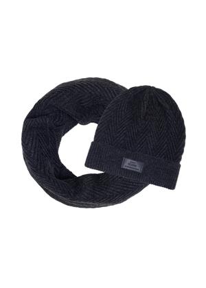 Zestaw czapka i komin SZAMT-0066-95+CZAMT-0057-95(Z21)