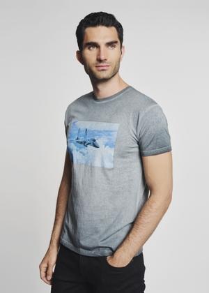 T-shirt męski TSHMT-0054-51(Z21)