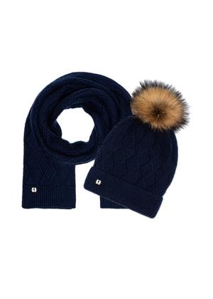 Zestaw czapka i szalik SZADT-0090A-69+CZADT-0040A-69(Z21)