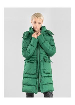 Zielona pikowana kurtka damska KURDT-0207-51(Z20)