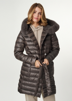 Pikowana kurtka zimowa damska KURDT-0340-81(Z21)