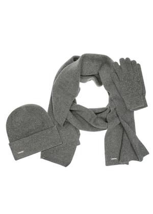 Zestaw czapka, szalik i rękawiczki CZADT-0049-95-SZADT-0094-95-REKDT-0016-95(Z20)