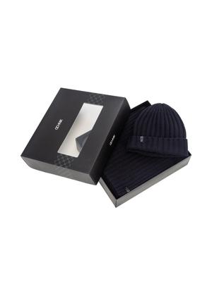 Zestaw czapka i szalik ZESTM-0002-69(Z21)