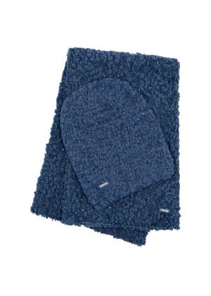 Zestaw czapka i szalik CZADT-0017-61 + SZADT-0044-69