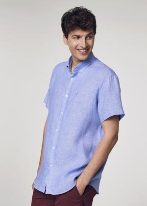 Koszula męska KOSMT-0256-61(W21)