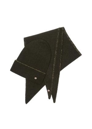 Zestaw czapka i szalik SZADT-0136-54+CZADT-0058-54(Z21)