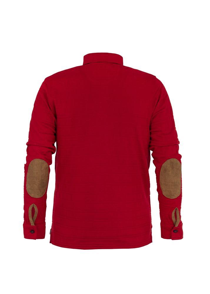 Koszula polo męska POLMT-0011-42(Z19)