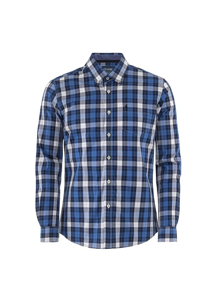 Koszula męska KOSMT-0132-69(W19)