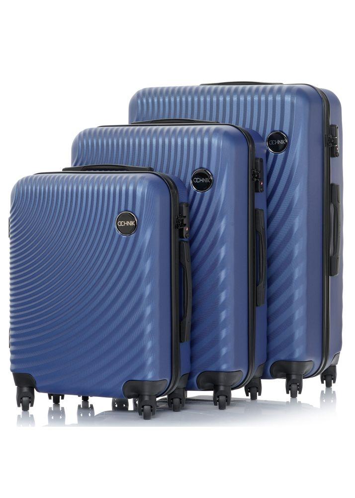 """Komplet walizek twardych na kółkach 19""""/24""""/28"""" WALAB-0048-62(W20)"""