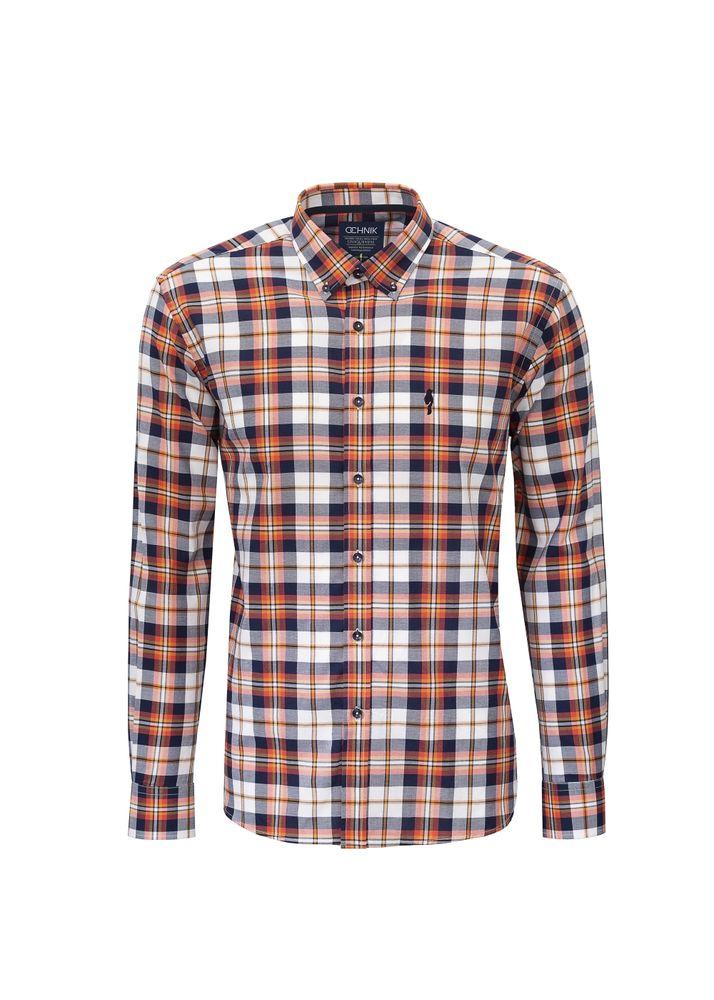 Koszula męska KOSMT-0096-91(Z18)