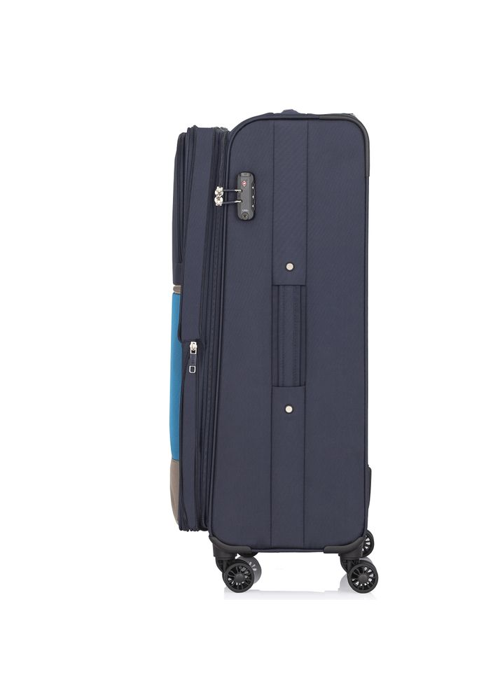 Średnia walizka na kółkach  WALNY-0028-69-24