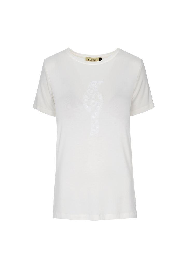 T-shirt damski TSHDT-0030-11(W19)