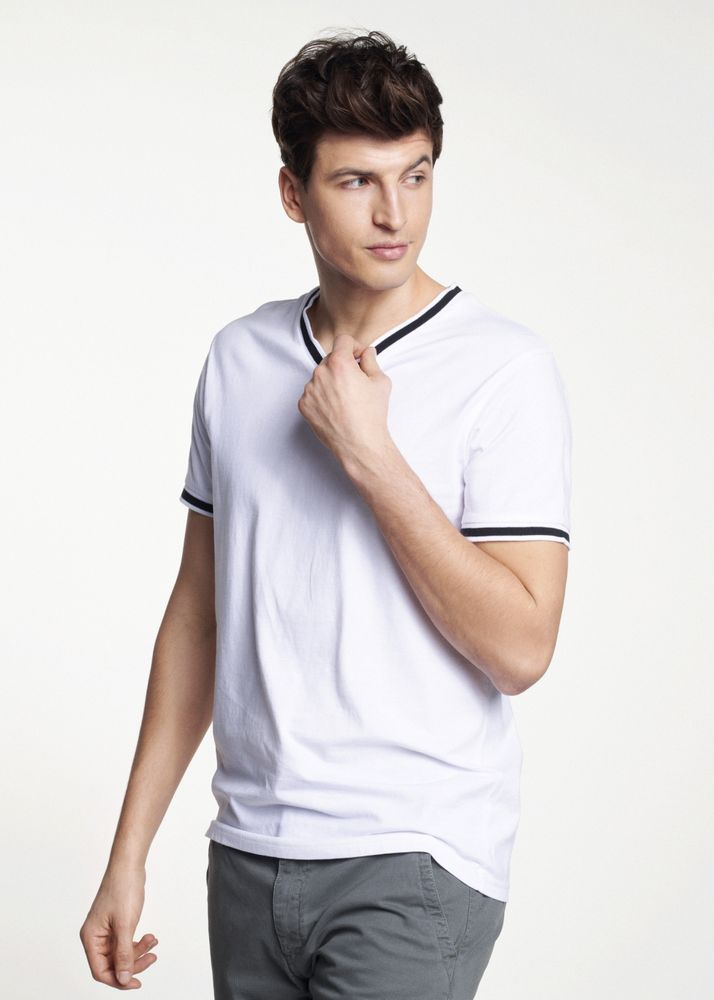 T-shirt męski TSHMT-0025-11(W21)