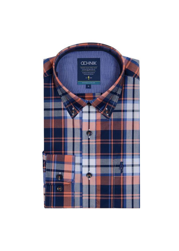 Koszula męska KOSMT-0116-30(W19)