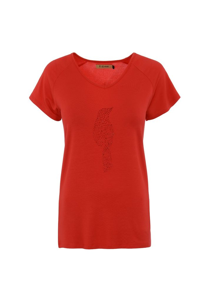 T-shirt damski TSHDT-0011-41(W18)